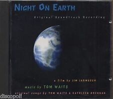 TOM WAITS - Night on earth - JIM JARMUSCH CD OST 1991 NEAR MINT CONDITION