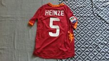 MAILLOT FOOT AS ROME ROMA HEINZE MAGLIA ITALIE ANCIEN SHIRT