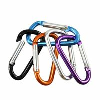 Carabiner Outdoor Climbing Hook For Keys Bottle Keychain Camping Aluminum Clip 3