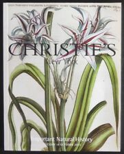 Auction Catalogue Christie's New York Important Natural History October 14, 2003