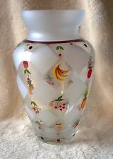 Lenox Fruits of Splendor Crystal Vase New with Tag