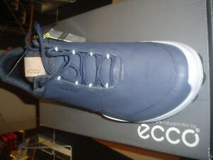 ECCO Biom Hybrid 3 Spikeless Men's Golf Shoes Size 40 NAVY OMBRE NIB