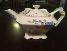 Art Deco Hand Painted Floral Design Teapot ( Garland)