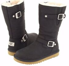 UGG AUSTRALIA KENSINGTON BLACK YOUTH/ KIDS US 4 FITS WOMENS US 6 NEW IN BOX