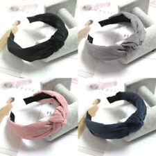 Women's Tie Headband Hairband Knot Cross Alice Hair Band Hoop Accessories Casual