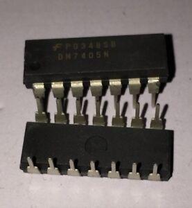 5PCS DM7405N DIP14 IC