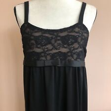 Duo Maternity Size  Small  Black Lace  Holiday Cocktail Party Dress