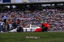 Ayrton Senna McLaren MP4/4 Winner German Grand Prix 1988 Photograph 6