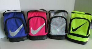 Nike Dome Lunch Bag Box Tote Insulated Zipper Nwt