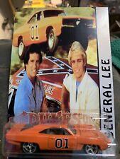 PREMIUM CUSTOM Dodge Charger General Lee REAL RIDERS on Custom Card