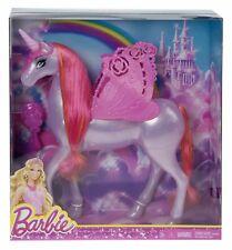 Barbie Fairytale Pegasus Unicorn Horse CFF40~NEW~