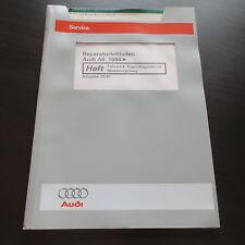 Werkstatthandbuch Audi A6 C5 Typ 4B Fahrwerk Eigendiagnose Niveauregulierung