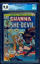 SHANNA THE SHE-DEVIL 3 CGC 9.8  WHITE PAGES * BEST COVER VERY RARE (NOT SHEENA)