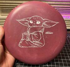 Discraft Paul McBeth Luna - Baby Yoda The Child - Purple w/ White Stamp - 172g