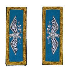 American Civil War Union Infantry Colonel Insignia Shoulder Boards 10 x 3.5 cms
