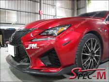 G Style Carbon Fiber Front Bumper Lip for 2015+ LEXUS RCF RC-F CF