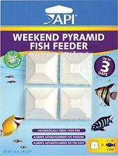 API 3 Day Weekend Feeder Dissolving Pyramid Block Fish Food Aquarium FREE SHIP