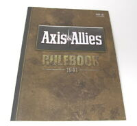 Axis & Allies 1941 Rulebook Board Game Replacement Rules Book Avalon Hill