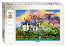 4000 Pieces Jigsaw Puzzle - Switzerland Oberhofen TRAVEL COLLECTION