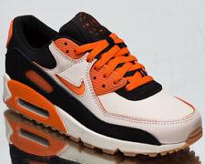 Nike Air Max 90 Premium Home And Away Men's Sail Orange Black Lifestyle Sneakers