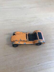 No.60 Matchbox Superfast Diecast Orange Lotus Super Seven , Used Condition