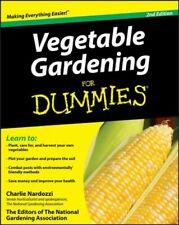 Vegetable Gardening for Dummies, Paperback by Nardozzi, Charlie; National Gar...