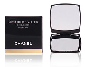 Chanel Compact Mirror miroir double facettes genuine item, with pouch and box