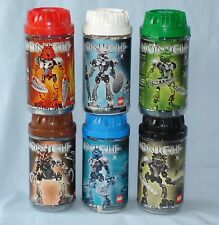 2002 Lego Bionicle ORIGINAL TOA NUVA (8566 - 8572) Complete in Canisters/Manuals