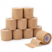 Self Adherent Cohesive Wrap Bandages Tape Non Woven Medical Gauze 2''x5 Yards