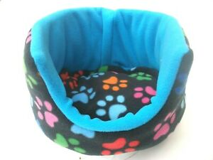 "**COZY PETS**GUINEA PIG BED FLEECE 10""BED REMOVABLE PAD, RABBIT, HEDGEHOG"