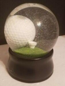 Golf Ball Globe Challenge Snow Globe Puzzle Paperweight Gift