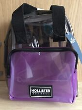 Hollister Girls Clear Mini Backpack
