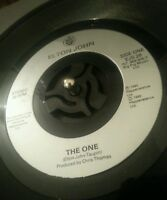 "Elton John ‎– The One 7"" Vinyl EJS 28 1992 Plays VG+"