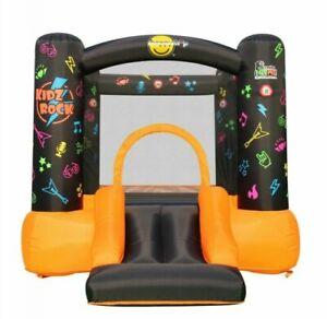 Bouncy Castle Slide Soft Play Kids Bouncy Castle Inflatable Disco Theme