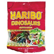 Haribo Dinosaurs Gummi Candy - 2 PACKS - 5oz Bags FREE SHIPPING