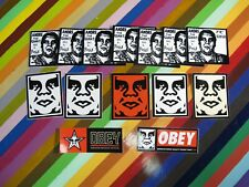 new Obey skateboard graffiti sticker mixed lot of 14 Fairey