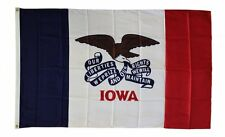 Iowa State Flag 3 x 5 Foot Flag - New 3x5 Indoor Or Outdoor -