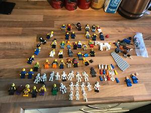 Lego Mini Figures Ninjago. City Starwars Joblot Bundle.