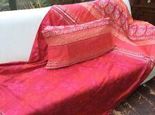 Bassetti Satin Bettwäsche Monte Rosa pink 135x200cm Kissen Bettgarnitur Set