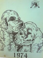 1974 English Setter Association Of America Annual Breed Reference Book