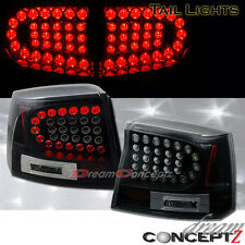 2006 2007 2008 Dodge CHARGER LED Tail lights Lamps SE SXT RT Black housing pair