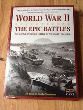 World War II The Epic Battles DVD Box Set WGBH Battle of Britain Bulge Iwo Jima