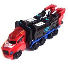 """Transformers RID 12"""" facile trasformare OPTIMUS PRIME Figura Giocattolo con Rimorchio, cool!"""
