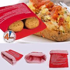 Microwave 4 Minutes Potato Cooker Bag Fast Washable Reusable Baked Bag