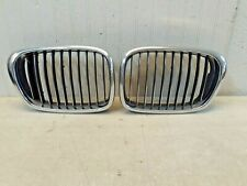 BMW 5 SERIES 2001 2002 2003 FRONT LEFT & RIGHT GRILLE GRILL OEM