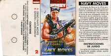 NAVY MOVES (DEMO) - GNOMI - / ZX SPECTRUM CASSETTE / DINAMIC - MICRO HOBBY Nº2