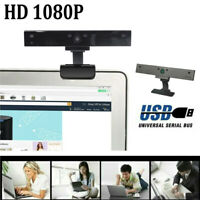 V8 1080P USB 2.0 HD Camera Webcam Clip Web Cam With Mic For Win10 PC Laptops