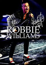 Robbie Williams Signed Poster - 2019 - #57 - 420mm x 297mm