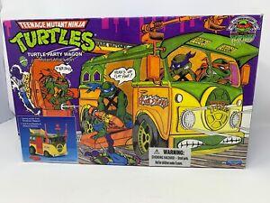 Playmates Teenage Mutant Ninja Turtles 25th Anniversary Turtle Party Wagon 2009