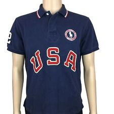 Polo Ralph Lauren Men's 2012 USA Olympic Team Polo Shirt Large L Custom Fit